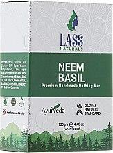 """Parfumuri și produse cosmetice Săpun natural """"Basil"""" - Lass Naturals Neem & Basil Soap"""