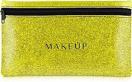 """Parfumuri și produse cosmetice Trusă cosmetică """"Glitter Pouch"""", 22x13 cm, aurie - MakeUp"""