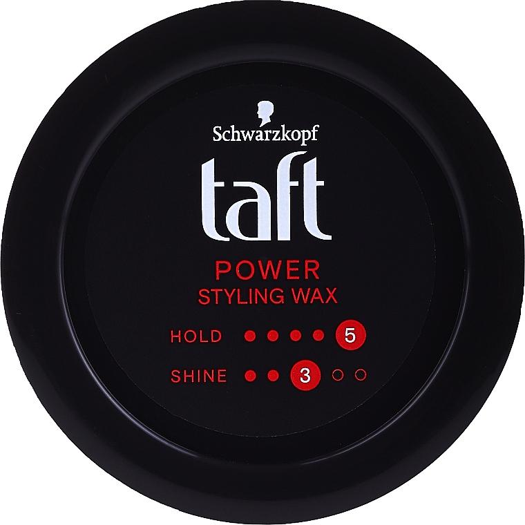 Ceară pentru păr - Schwarzkopf Taft Power Wax Structure
