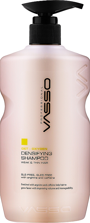 Șampon pentru îngroșare și volumul - Vasso Professional Densifying Shampoo