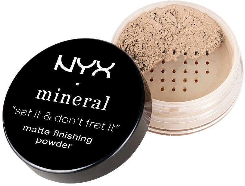 Pudră- finish matifiantă - NYX Mineral Matte Finishing Powder