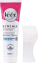 Parfumuri și produse cosmetice Cremă epilatoare pentru pielea sensibilă - Veet Minima