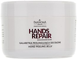 """Parfumuri și produse cosmetice Peeling pentru mâini """"Peach handles"""" - Farmona Farmona Brzoskwiniowe Dlonie"""