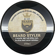 Parfumuri și produse cosmetice Cremă pentru barbă - By My Beard Beard Styler Light Hold Styling Cream
