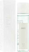 Parfumuri și produse cosmetice Tonic revigorant pentru față - Sioris Feel So Fresh Toner
