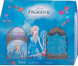 Parfumuri și produse cosmetice Disney Frozen II Elsa Gift Set - Set (edt/50ml + soap/50g)