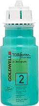 Parfumuri și produse cosmetice Perm pentru păr poros și vopsit - Goldwell Topform Foam Wave 2