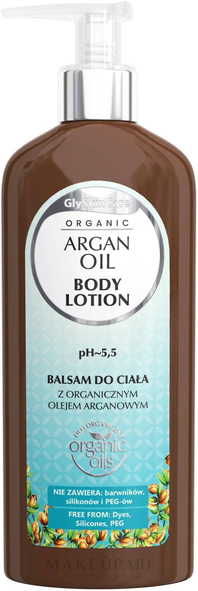 Balsam de corp cu ulei de argan - GlySkinCare Argan Oil Body Lotion — Imagine 250 ml