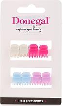 Parfumuri și produse cosmetice Agrafe de păr FA-9917, Mini Mix, 8 bucăți - Donegal Hair Clip