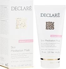 Parfumuri și produse cosmetice Mască de față - Declare Stress Balance Skin Meditation Mask