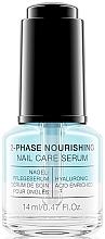 Parfumuri și produse cosmetice Ser nutritiv bifazic pentru unghii - Alessandro International Spa 2-Phase Nourishing Nail Care Serum