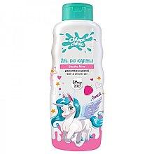 Parfumuri și produse cosmetice Gel de duș pentru copii - Chlapu Chlap Bath & Shower Gel Strawberries