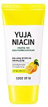 Parfumuri și produse cosmetice Cremă cu protecție solară SPF50+ - Some By Mi Yuja Niacin Mineral 100 Brightening Suncream