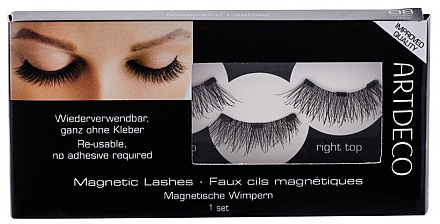 Gene false - Artdeco Magnetic Lashes False Eyelashes 08 Street Style