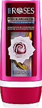 Parfumuri și produse cosmetice Balsam pentru păr uscat și epuizat - Nature of Agiva Roses Rose & Argan Oil Damaged Hair Conditioner