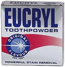 Parfumuri și produse cosmetice Pulbere pentru dinți - Eucryl Toothpowder Original
