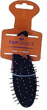 Parfumuri și produse cosmetice Perie pentru păr, 2007, portocalie - Top Choice