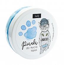 Parfumuri și produse cosmetice Spumă de curățare pentru corp, mâini și păr, albastru - LaQ Cleansing Foam
