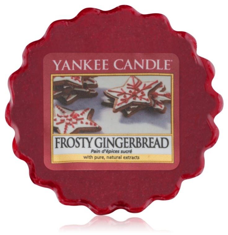 Ceară aromatică - Yankee Candle Wax Frosty Gingerbread — Imagine N1