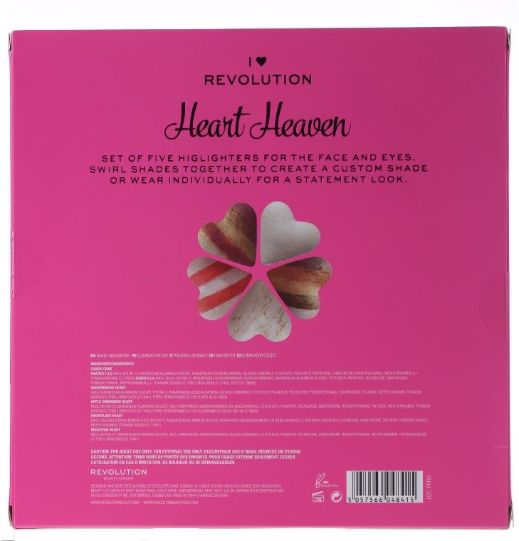 Set - I Heart Revolution I Heaven (highlighter/5x10g) — Imagine N2