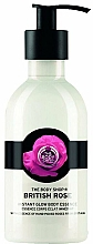 Духи, Парфюмерия, косметика Лосьон для тела - The Body Shop British Rose Instant Glow Body Essence Lotion