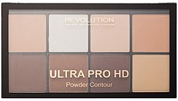 Parfumuri și produse cosmetice Paleta pentru contur facial - Makeup Revolution HD Pro Powder Contour