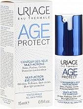 Parfumuri și produse cosmetice Ser antirid pentru conturul ochilor - Uriage Age Protect Multi-Action Eye Contour