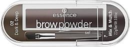 Parfumuri și produse cosmetice Set pentru sprâncene - Essence Eyebrow Stylist Set