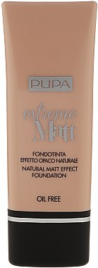 Fond de ten - Pupa Extreme Matt Effect Foundation SPF 10 — Imagine N4