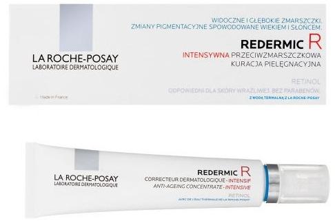 Tratament dermatologic anti-îmbătrânire cu acțiune intensivă pentru piele - La Roche-Posay Redermic R Anti-Ageing Concentrate-Intensive