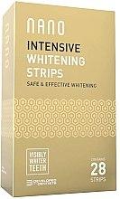 Parfumuri și produse cosmetice Benzi pentru albirea dinților - WhiteWash Nano Intensive Whitening Strips