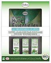 """Parfumuri și produse cosmetice Set de uleiuri esențiale """"De iarnă"""" - Galeo Vital Oils For Winter (ess/oil/3x10ml)"""