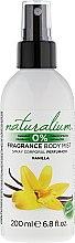 Parfumuri și produse cosmetice Spray de corp - Naturalium Vainilla Body Mist