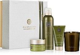 Parfumuri și produse cosmetice Set - Rituals The Ritual Of Dao Calming (sh/gel/200ml + b/scrub/125ml + b/cr/70ml + candle/145g)