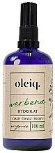 Parfumuri și produse cosmetice Hidrolat de Verbena pentru față, corp și păr - Oleiq Verbena Hydrolat