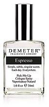 Parfumuri și produse cosmetice Demeter Fragrance Espresso - Apă de colonie