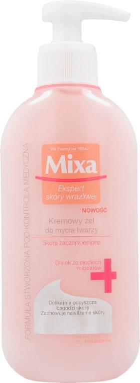 Cremă-gel de curățare pentru față - Mixa Sensitive Skin Expert Foaming Cleansing Gel