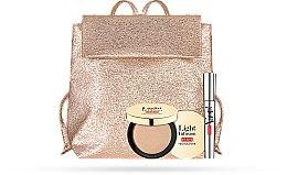 Parfumuri și produse cosmetice Set - Pupa Vamp! & Light Infusion 2019 (mascara/9ml + highilghter/4g + bag)
