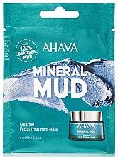 Parfumuri și produse cosmetice Detox-mască pentru față - Ahava Mineral Mud Clearing Facial Treatment Mask (mostră)
