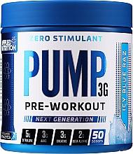 Parfumuri și produse cosmetice Formulare multicomponentă pre-antrenament cu un amestec de 12 substanțe pentru performanța musculară și fluxul sanguin - Applied Nutrition Preworkout Icy Blue Raz