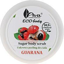 """Parfumuri și produse cosmetice Scrub pentru corp """"Guarana"""" - Ava Eco Body Natural Sugar Scrub Guarana"""