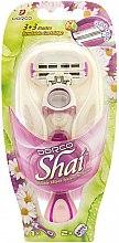 Parfumuri și produse cosmetice Mașină de ras, cu 2 casete de schimb - Dorco Shai 3+3