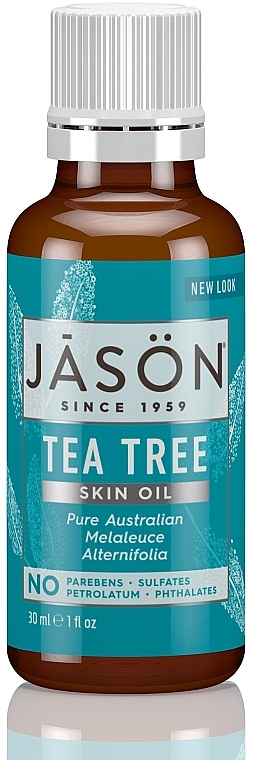 Ulei de arbore de ceai - Jason Natural Cosmetics Organic Oil Purifying Tea Tree — Imagine N1
