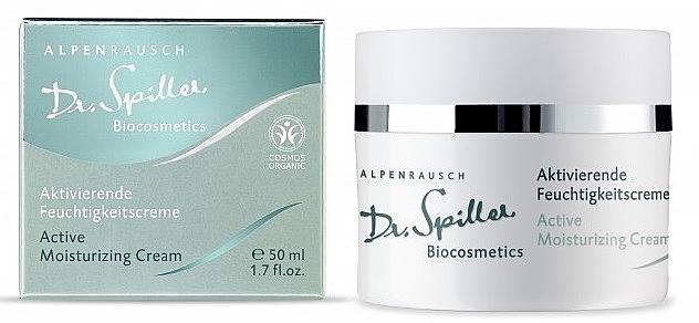 Активный увлажняющий крем - Dr. Spiller Alpenrausch Active Moisturizing Cream — фото N1