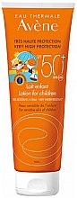 Parfumuri și produse cosmetice Loțiune de protecție solară pentru copii - Avene Eau Thermale Sun Lotion Children SPF50