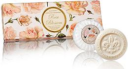 """Set săpunuri """"Trandafir"""" - Saponificio Artigianale Fiorentino Rose Blossom Soap — Imagine N1"""