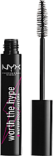 Parfumuri și produse cosmetice Rimel - NYX Professional Makeup Worth The Hype Waterproof Mascara