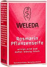 Parfumuri și produse cosmetice Săpun vegetal cu uleide rozmarin - Weleda