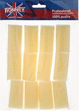 Parfumuri și produse cosmetice Bigudiuri Velcro 32/63mm - Ronney Professional Velcro Roller