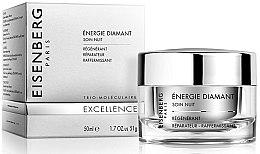 Parfumuri și produse cosmetice Cremă de noapte pentru față - Jose Eisenberg Energie Diamant Soin Nuit